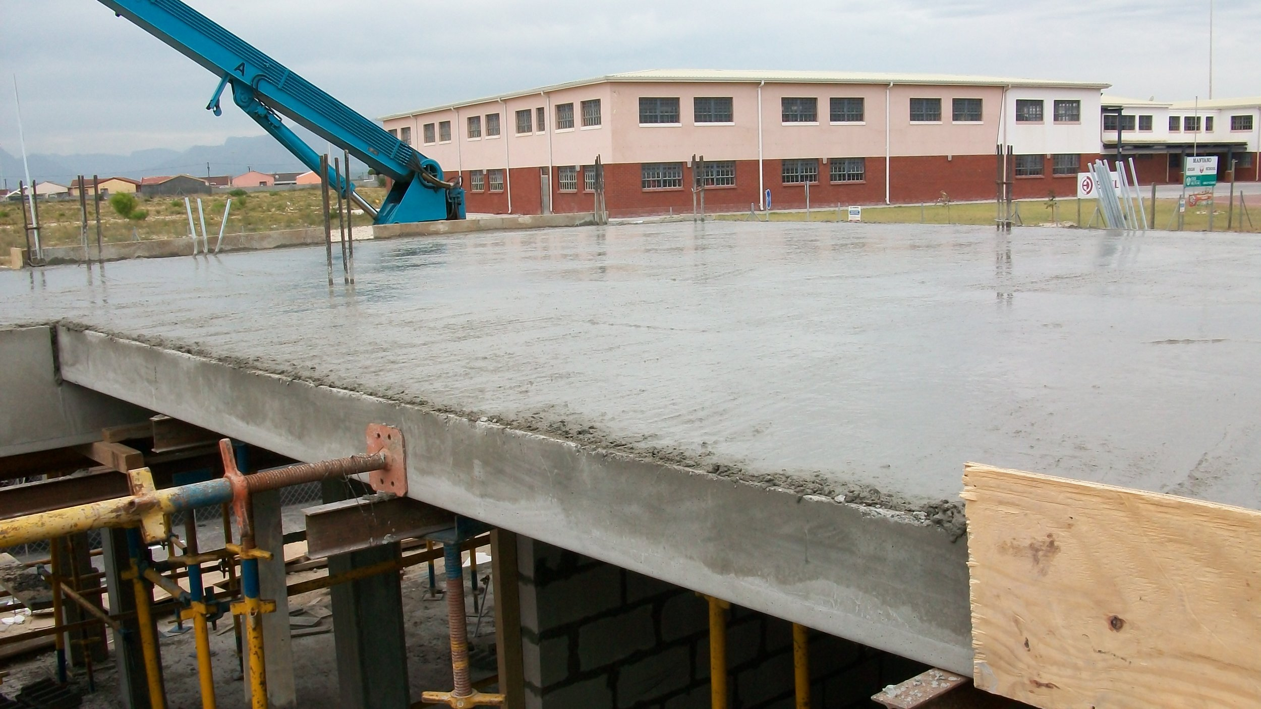 casting decking to second floor.JPG