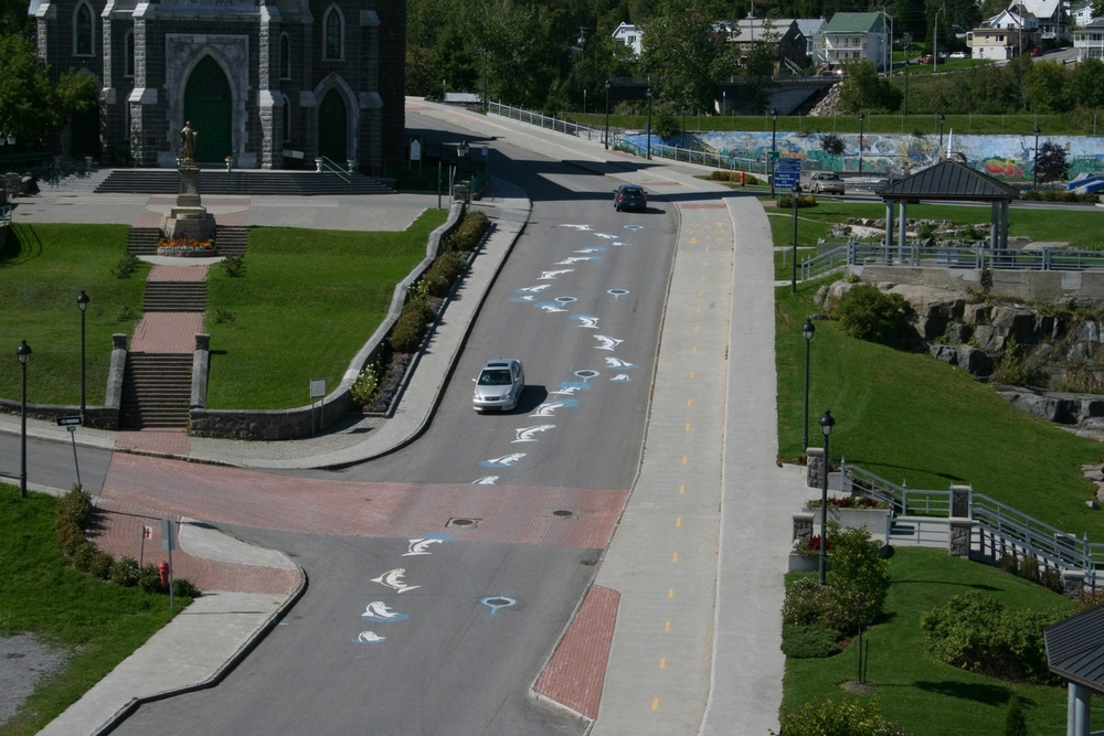Traffic's Art, Saguenay Salmon, Rimouski, Quebec