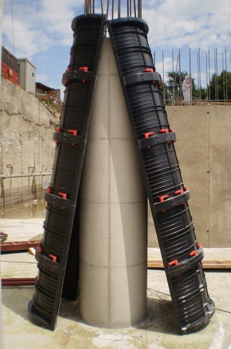 GEOTUB: round columns