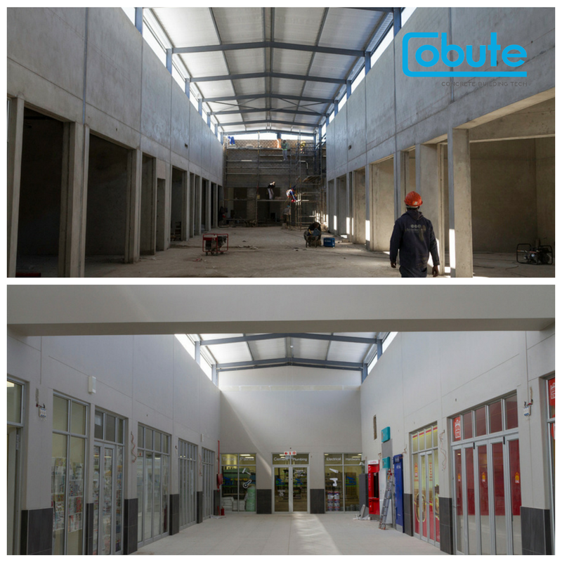 Before and after.Site view. Image by    David Harris   .