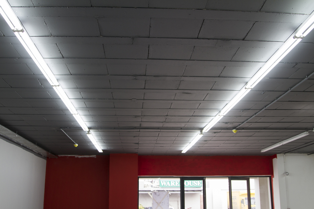 After casting and installation of electrical services.