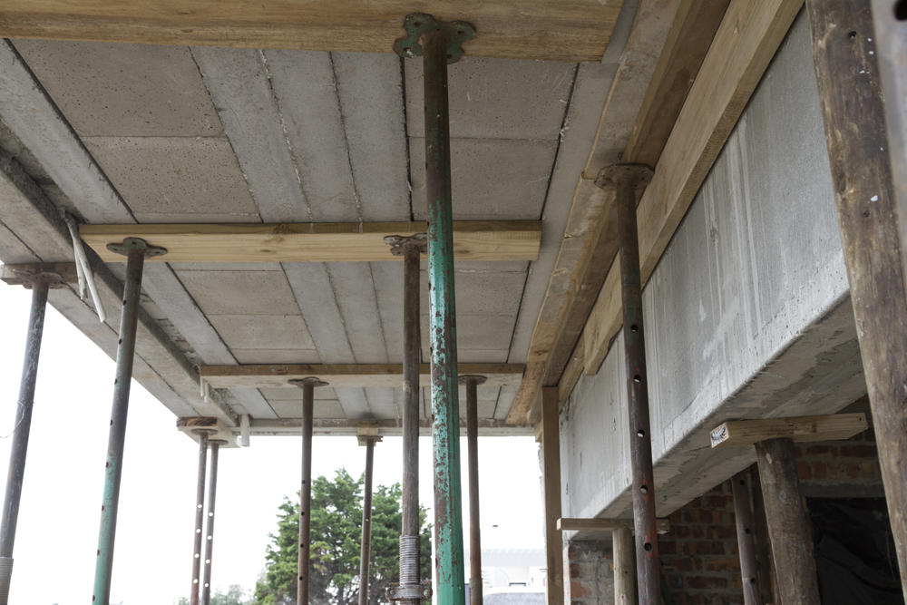 Beam-in-slab by Cobute to provide additional reinforcement for point loads.