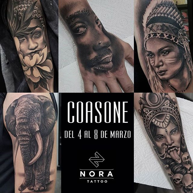 Próximo artista invitado!! Del 4 al 8 de marzo tendremos en @noratattoocoruna a nuestro amigo Javi, @coasone !! No te quedes sin tu cita!!🤘🏻🤘🏻 #noratattoostudio #noratattoocompostela #noratattoocoruna #tattoo #tattoolife #realistictattoo #guest #tattooguest