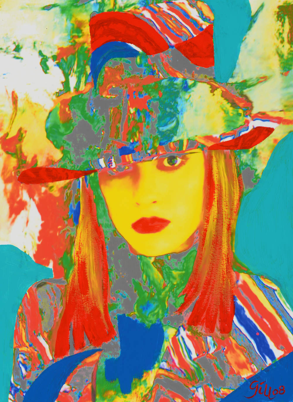 LADY WITH HAT, 2008