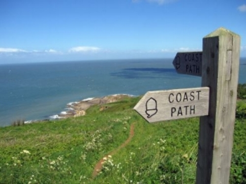 Take a stroll along the coast path next to our park to admire the views