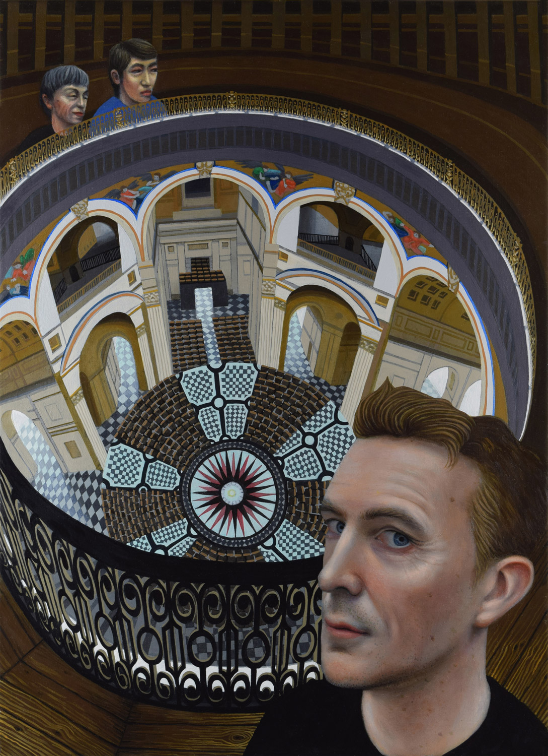 Novelist David Mitchell and the Whispering Gallery