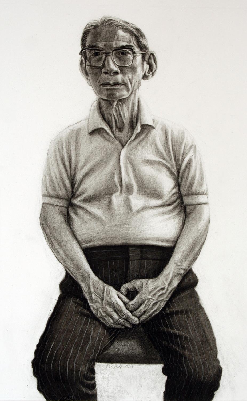Survivor of the atomic bomb, Hiroshima (Mr.Toshinobu Sasaki)