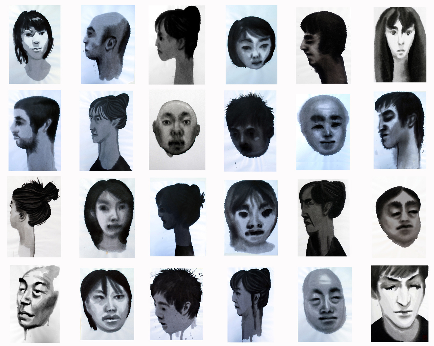 Japanese Ink Heads