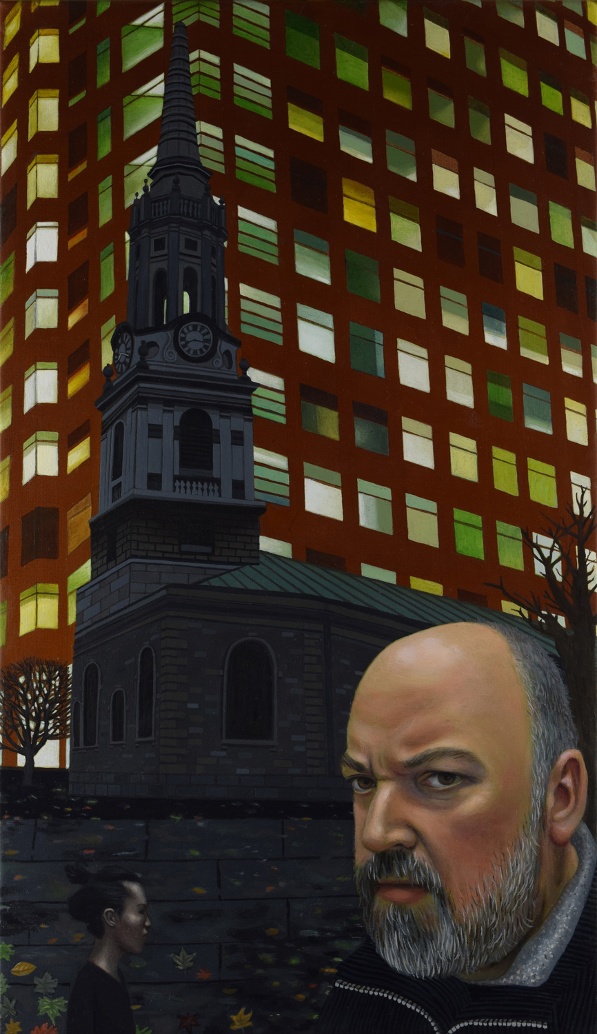Graphic Novelist Dave McKean and St.Giles Church