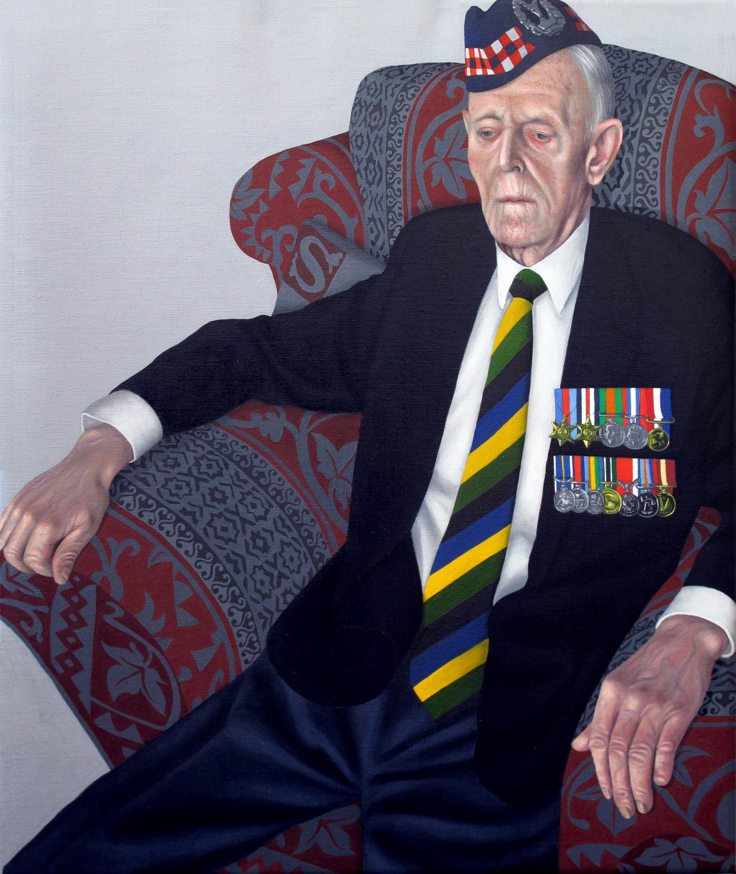 Portrait of a D-Day Veteran (Mr.James Glennie)