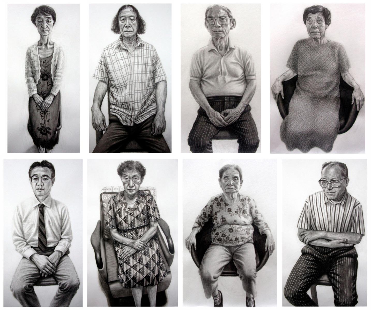 Survivors of the atomic bomb, Hiroshima (Hibakusha Portraits)