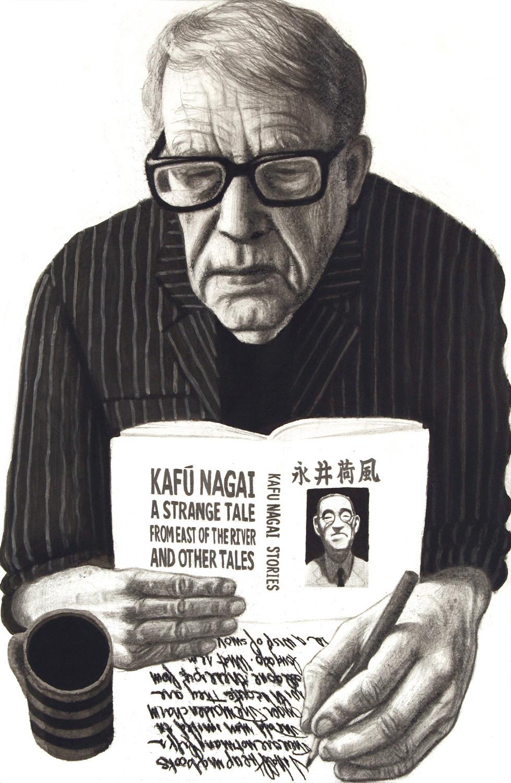 Donald Richie Portrait