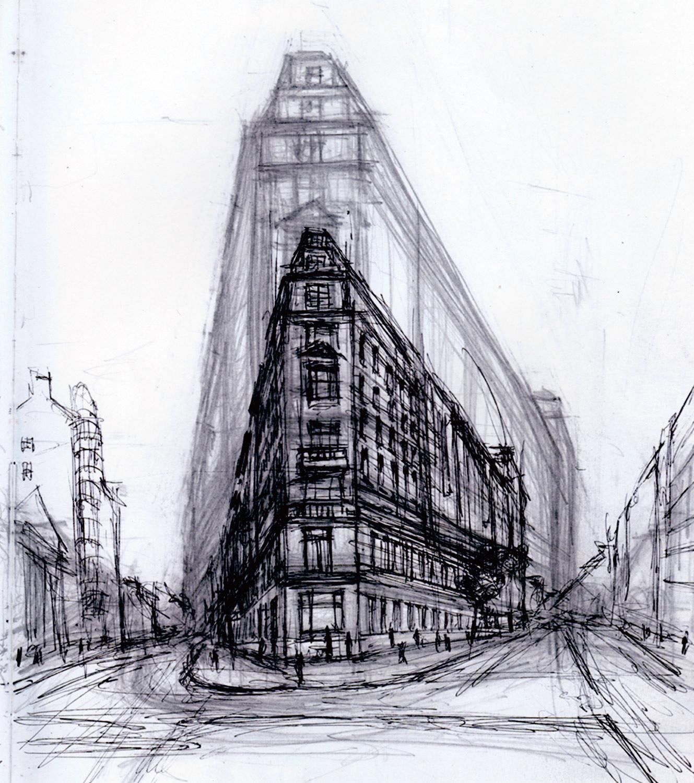Street Corner, W1 London