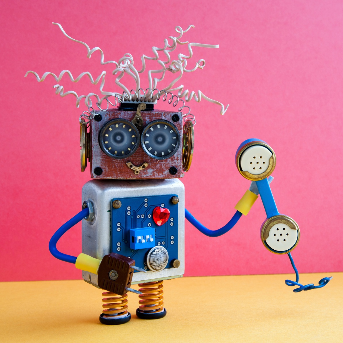 service bot - photo by besjunior/iStock / Getty Images