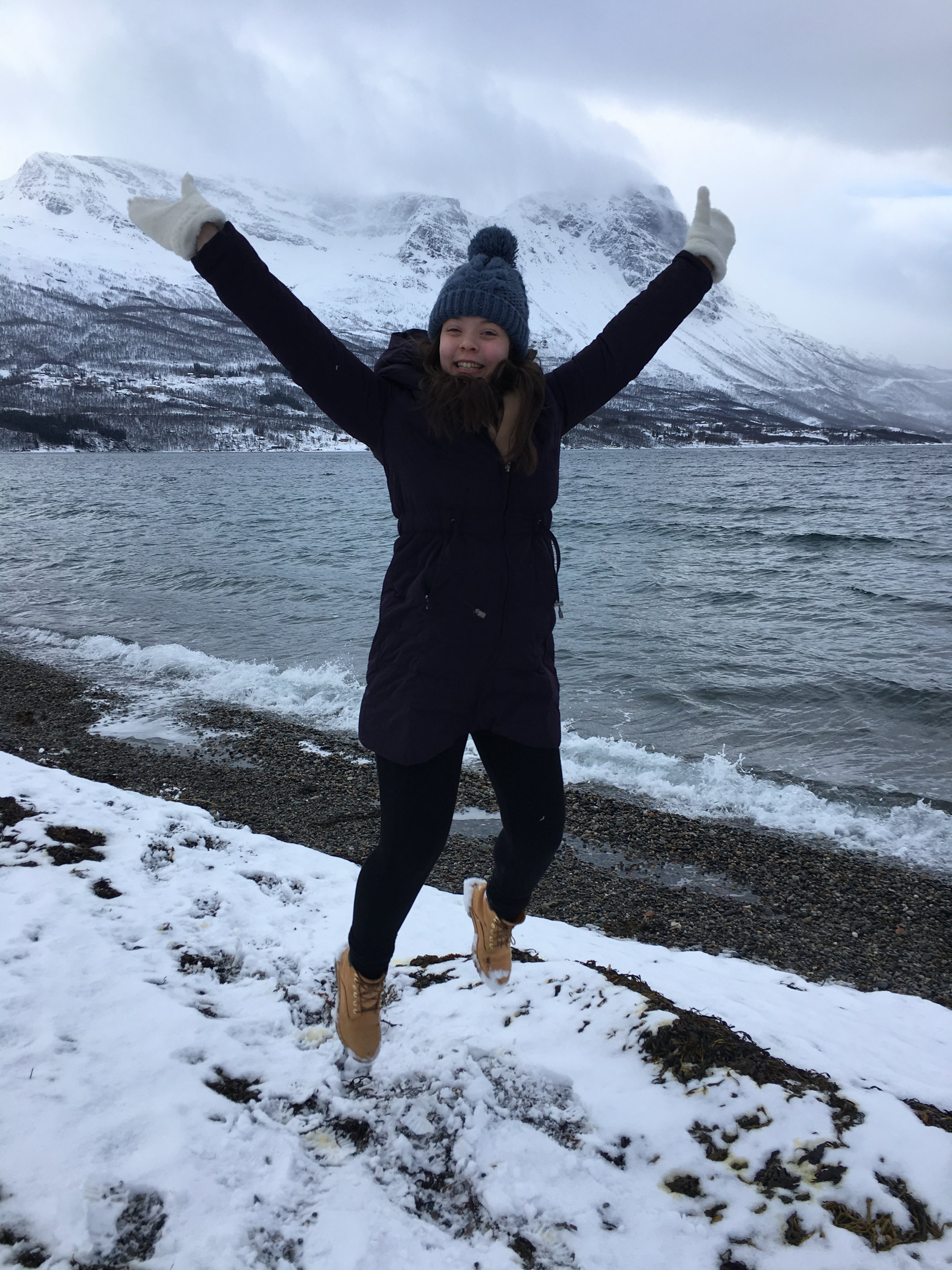 On a trip to Narvik, Norway