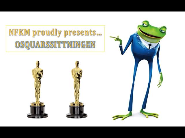 NFKM proudly presents Osquarsittningen