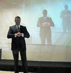 D. José Luis Valdés Carreño  . Jefe de Protocolo en la Oficina de Comunicación y Protocolo del Mando Militar de Canarias.