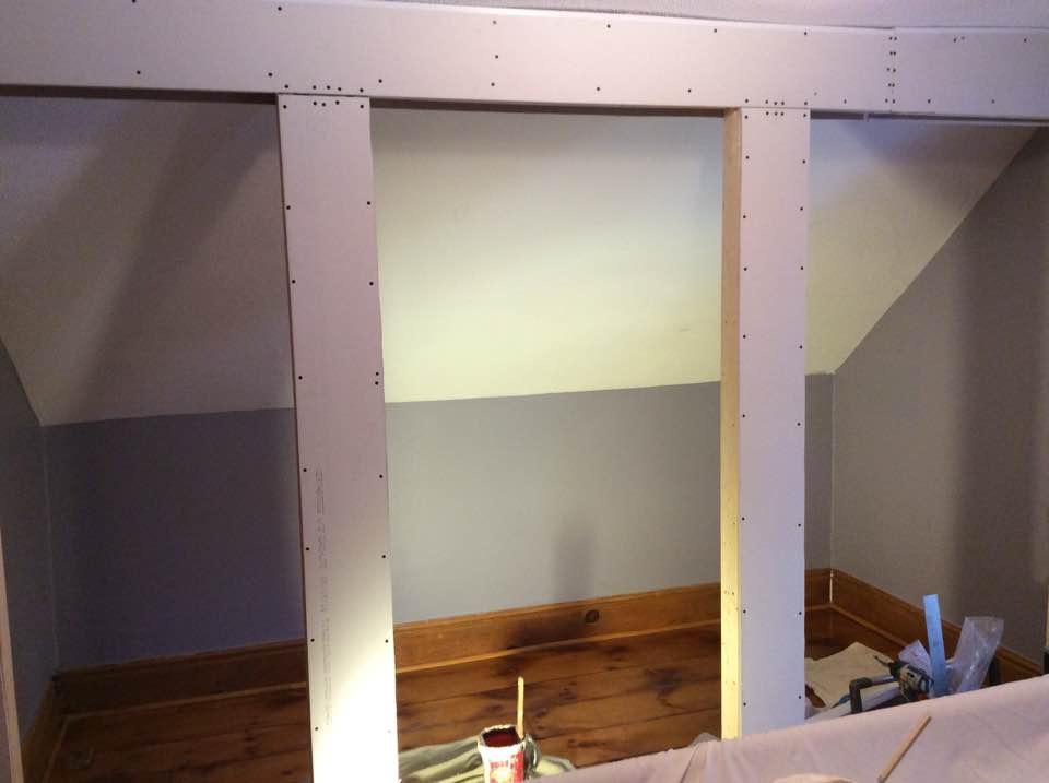 Closet Reno: In Progress