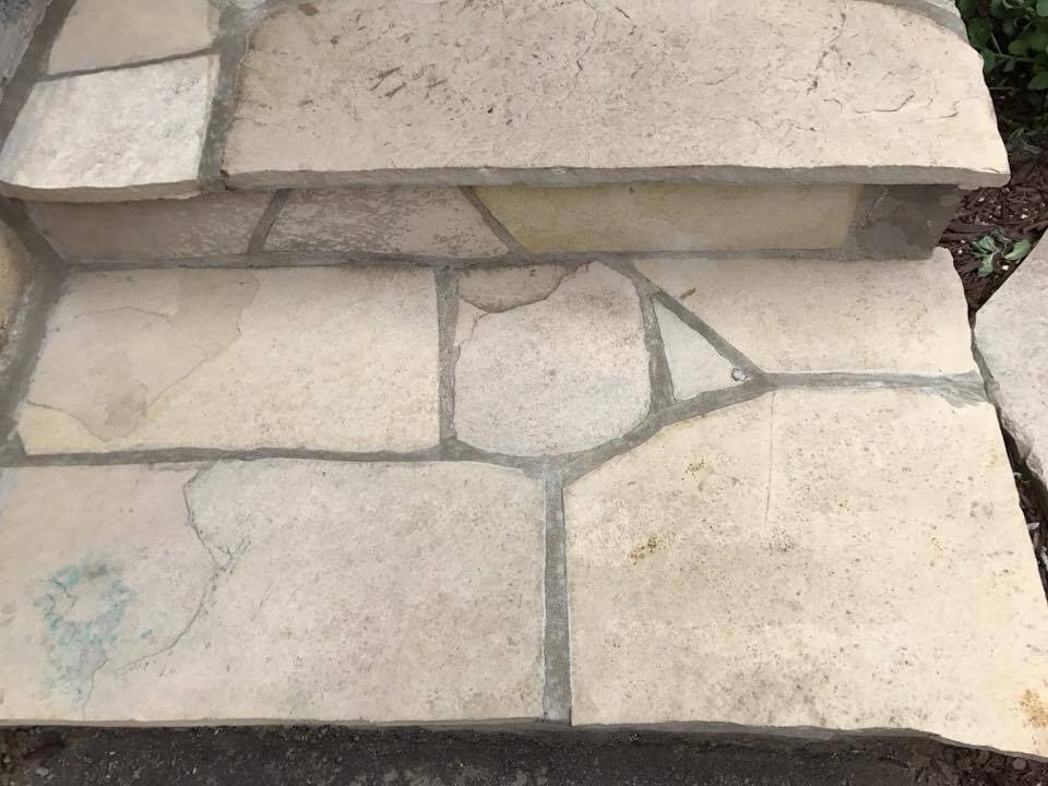 Stone Work: After