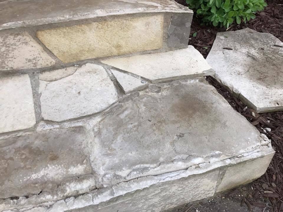 Stone Work: Before