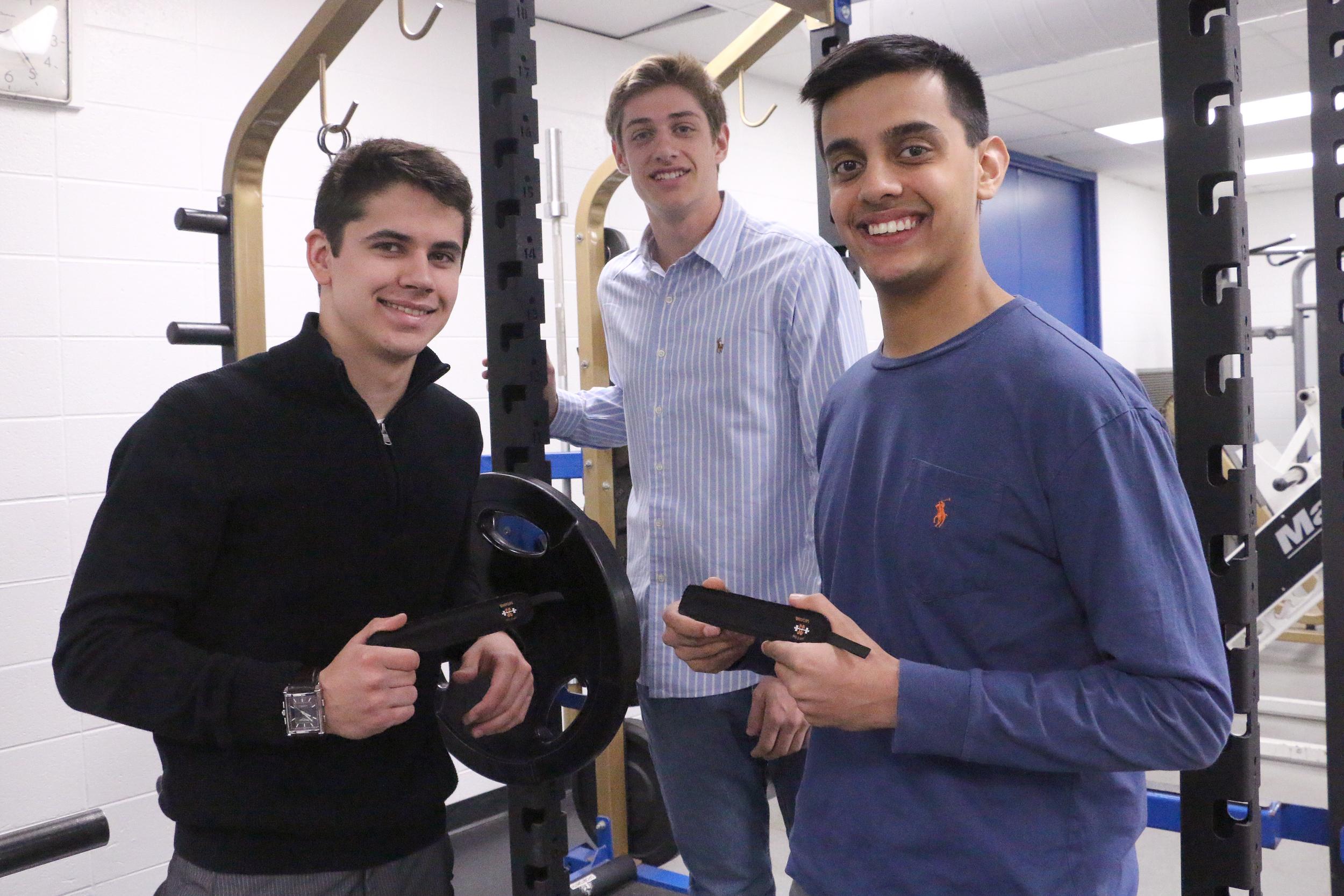 Wheeling seniors Ryan Caulfield,Martin Dimitrov, and Vraj Dharia created SnapClips
