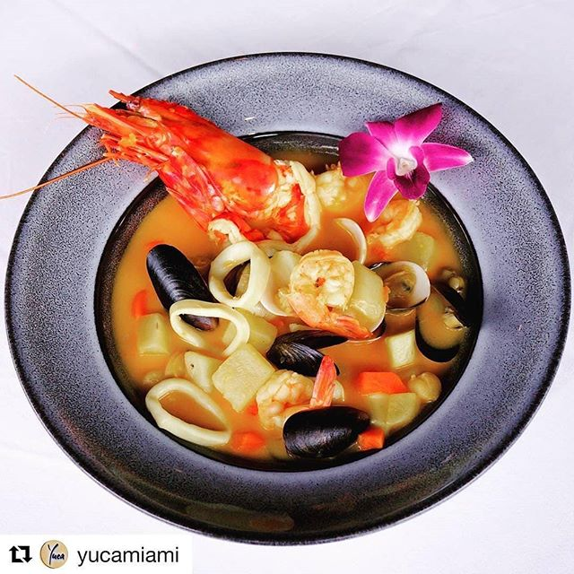 Perfect for chilly weather | Reservations www.yuca.com Click on Reserve Link in Bio  #saturday #yucamiami #night #drink #dinner #miamibeach #seafood #cubancuisine #lincolnroad