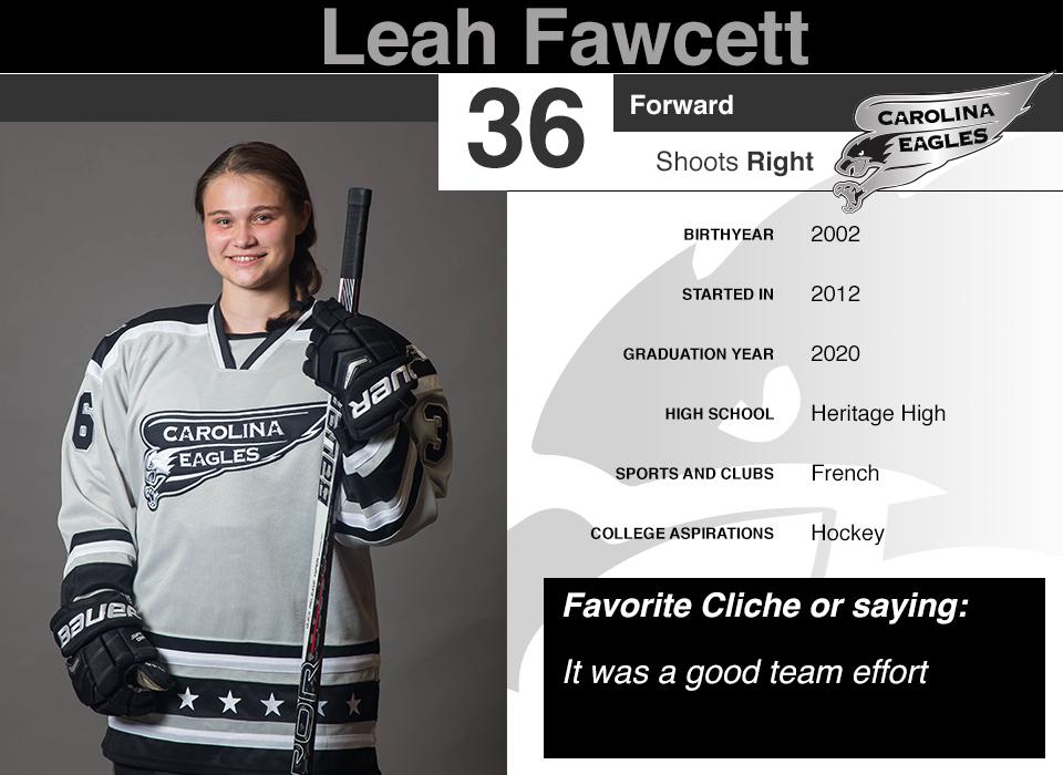 #36 Leah Fawcett GY 2020
