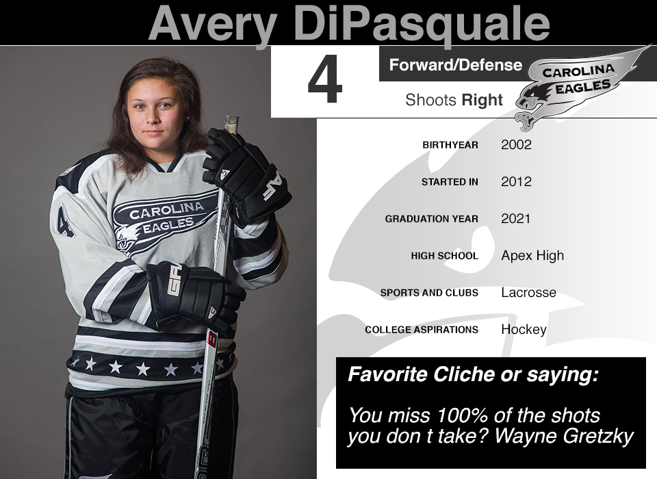 #4 Avery DiPasquale GY 2021