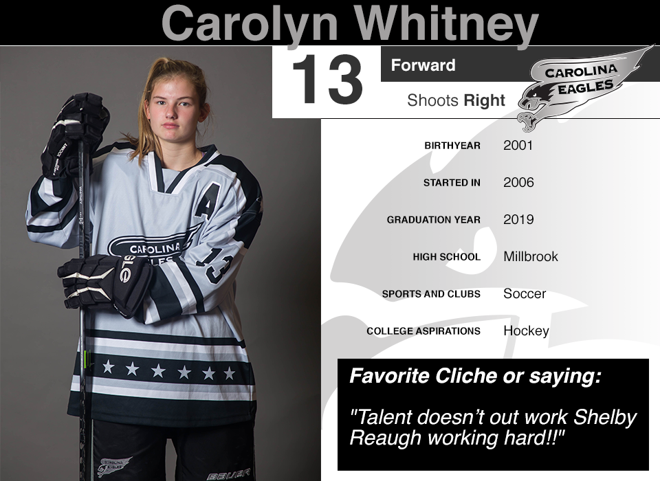 #13 Carolyn Whitney GY 2019