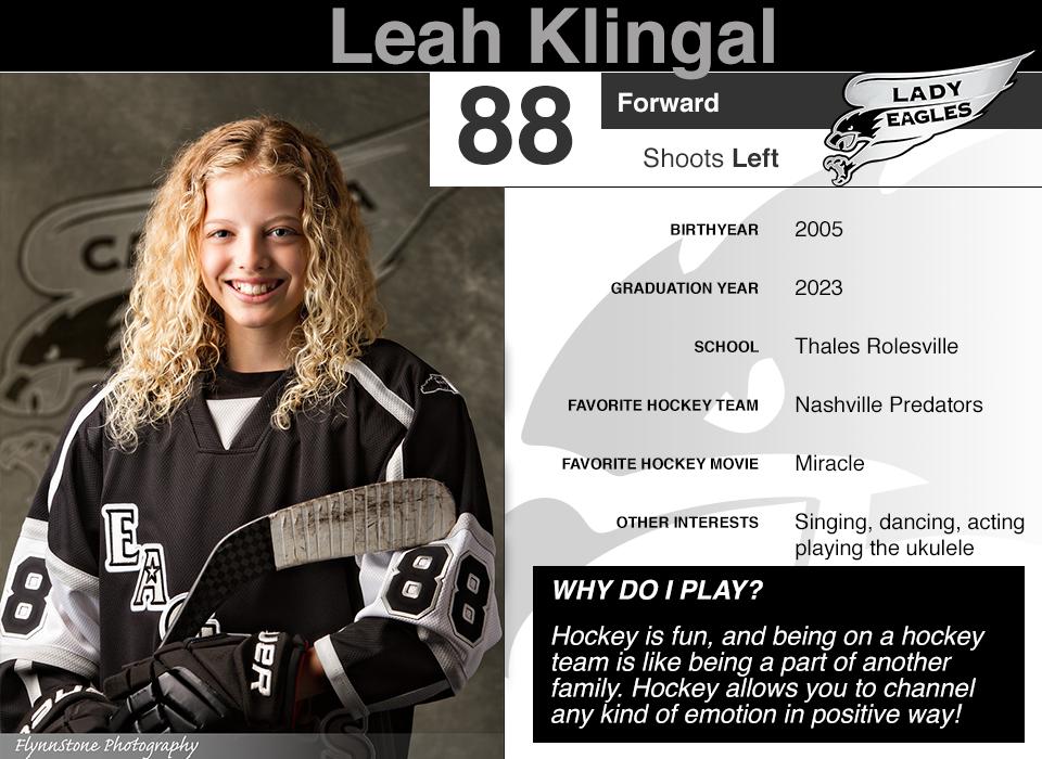 #88 Leah Klingal