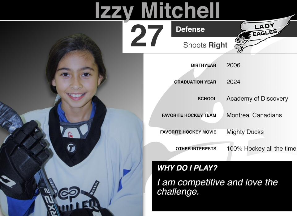 #27 Izzy Mitchell