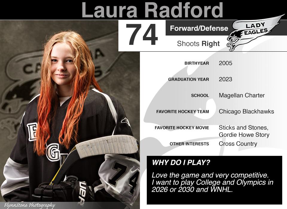 #74 Laura Radford