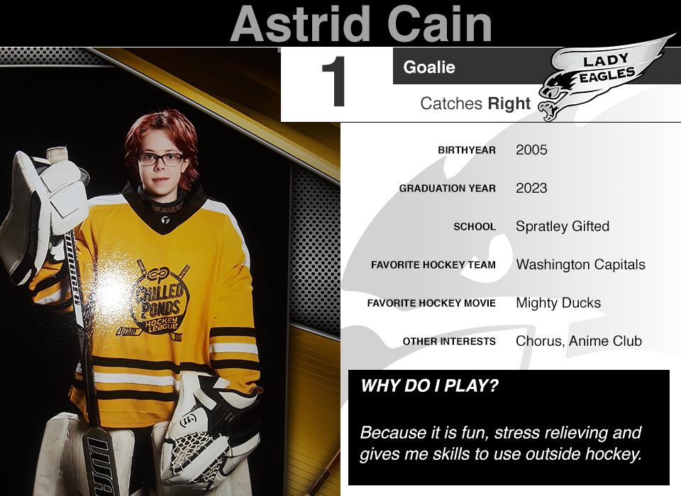 #1 Astrid Cain