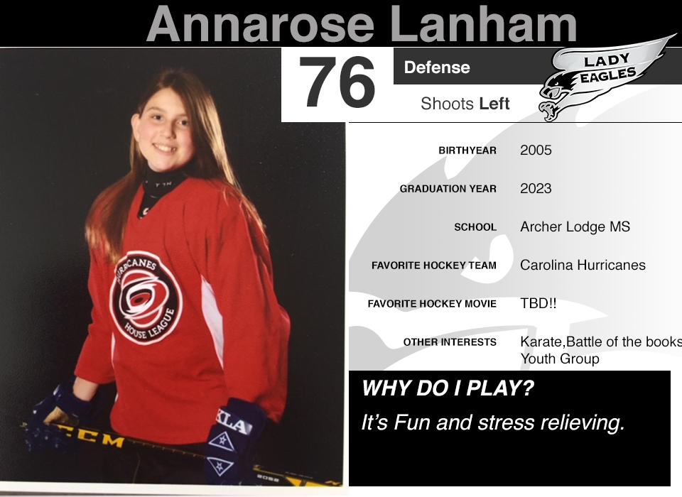 #76 Annarose Lanham