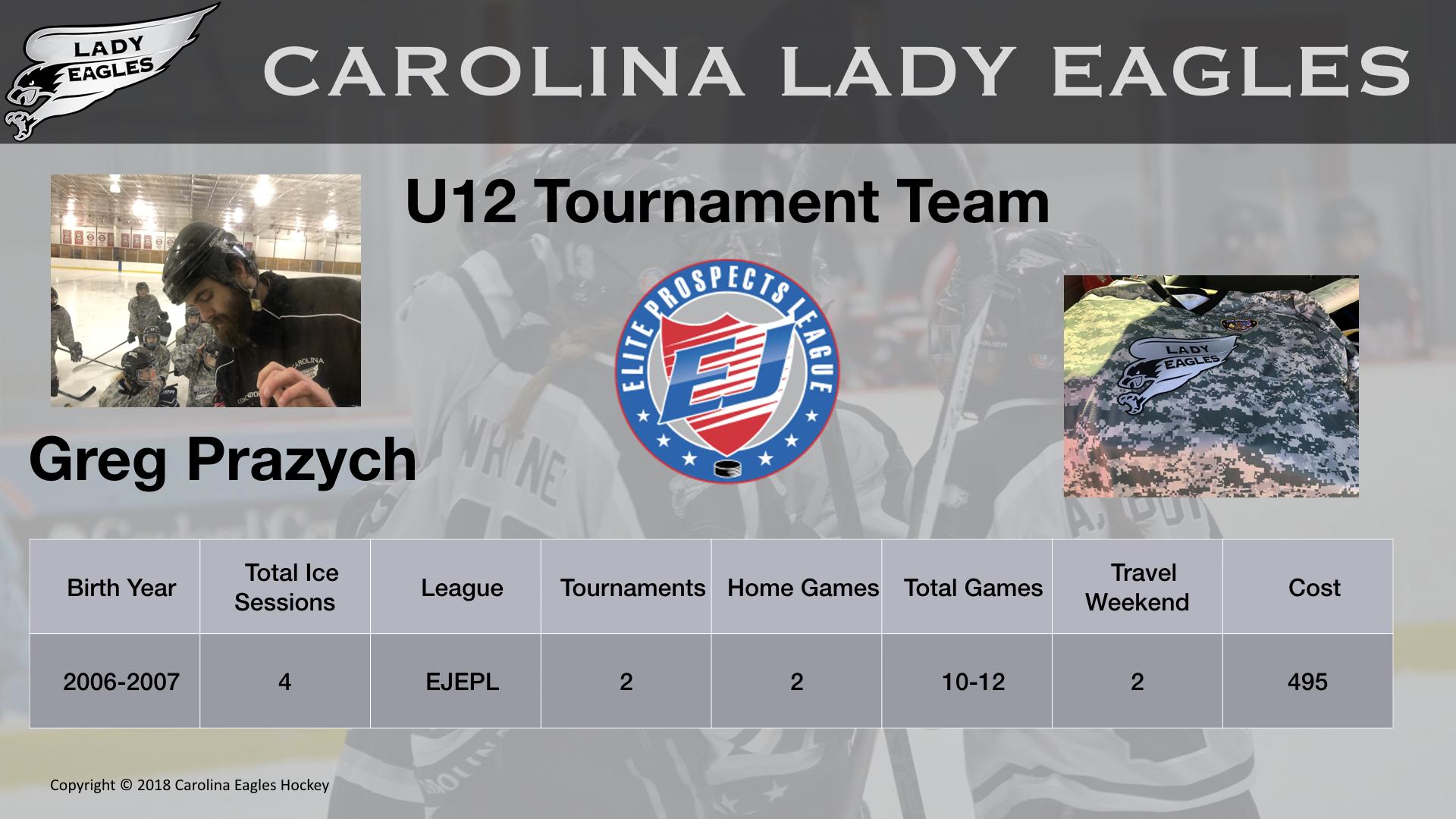 U12T Lady Eagle Team