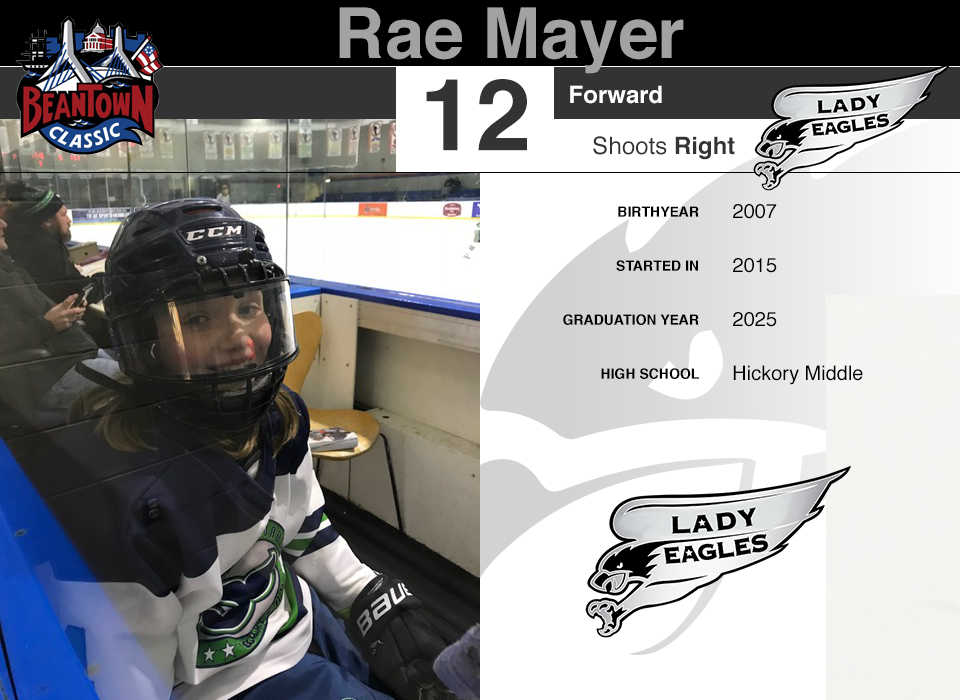 #12 Rae Mayer