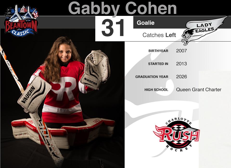#31 Gabby Cohen