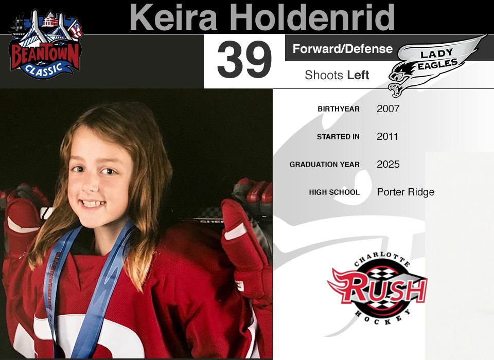 #39 Keira Holdenrid