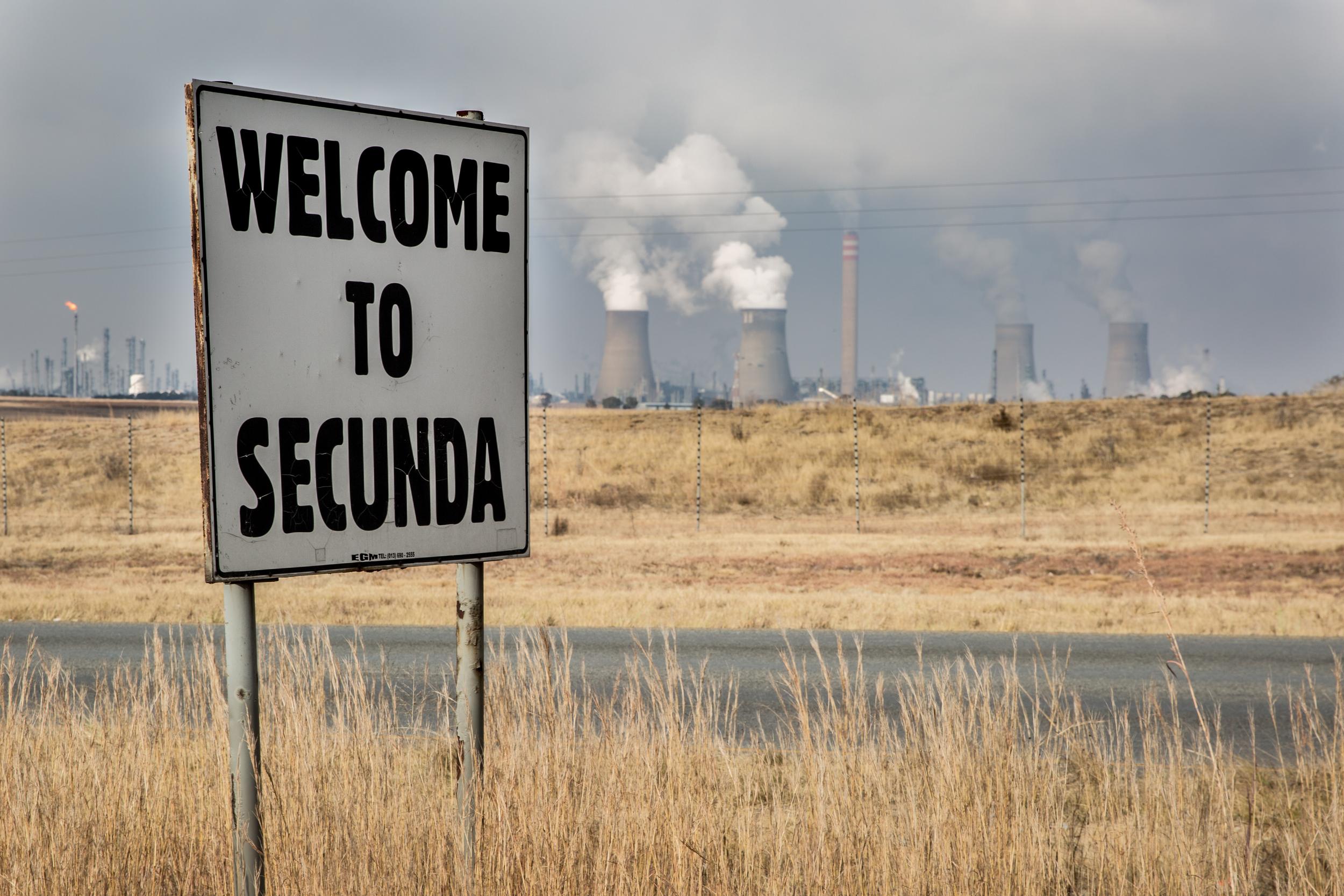 Sasol's plant in Secunda