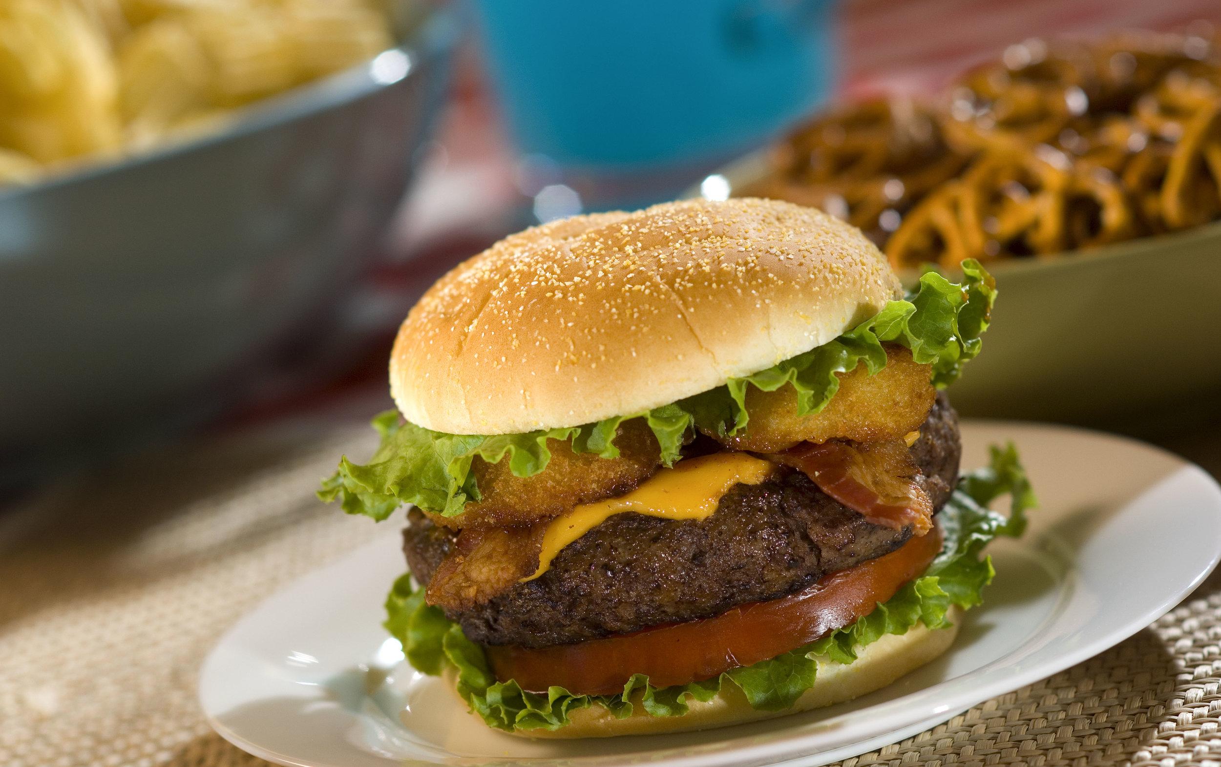 Aunt Millie's Best Barbecue Burger