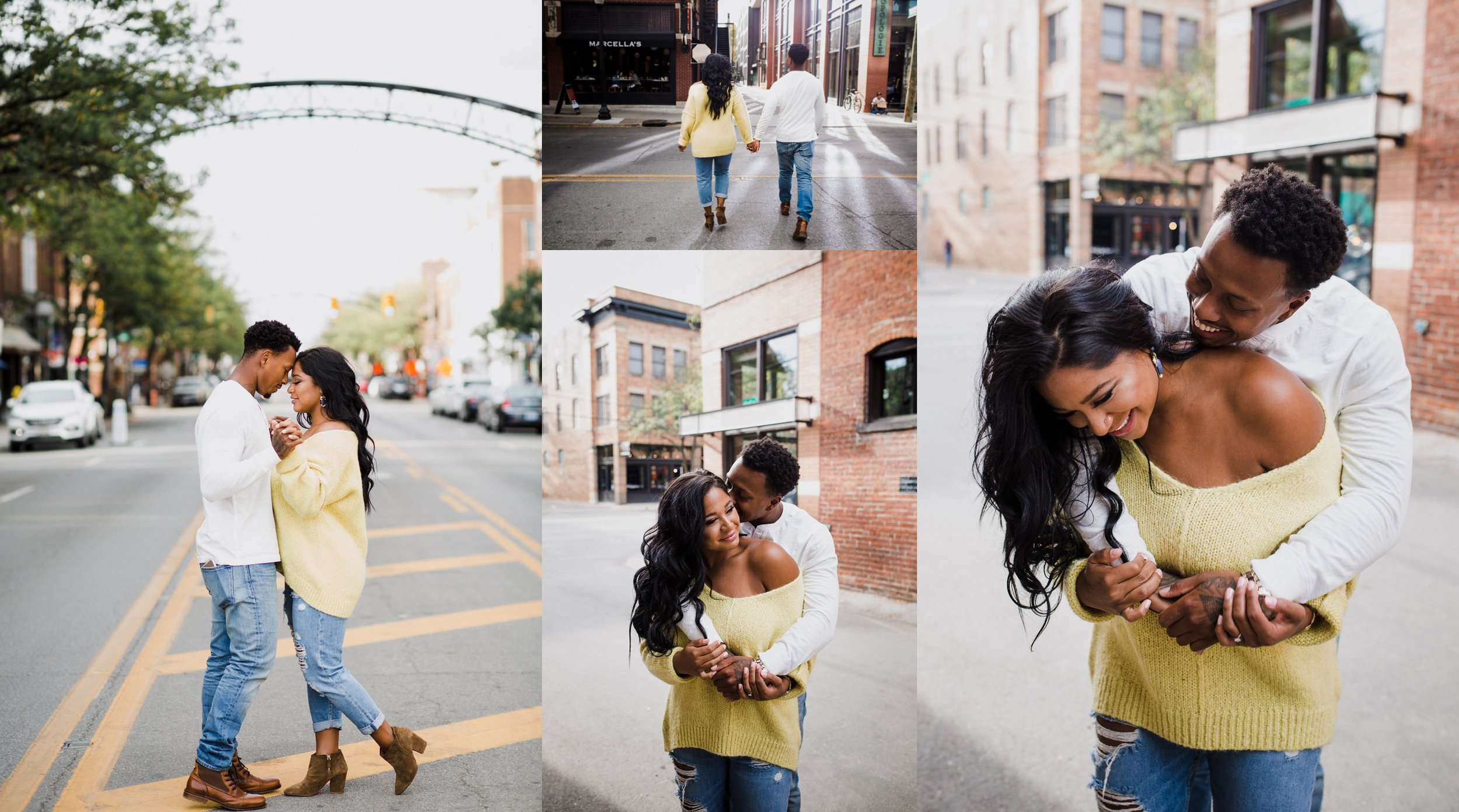Kristine + Brandon - Short North Engagement