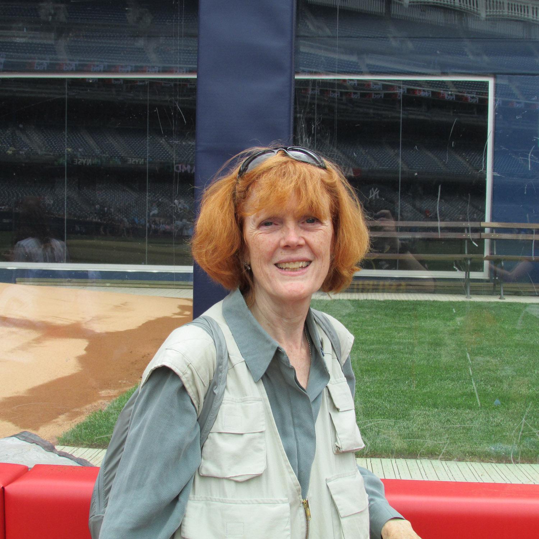 Susan on field 1500 5-13-2013 170.jpg