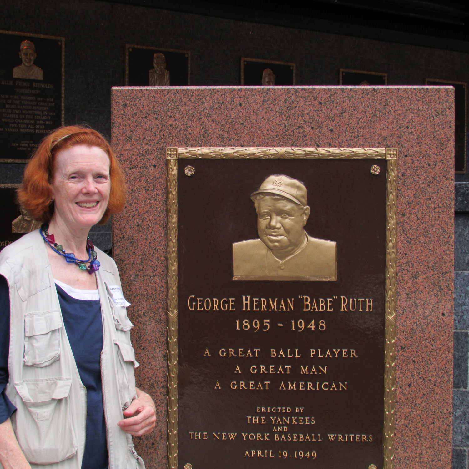 Susan with Ruth plaque 7-2-2013  011.jpg