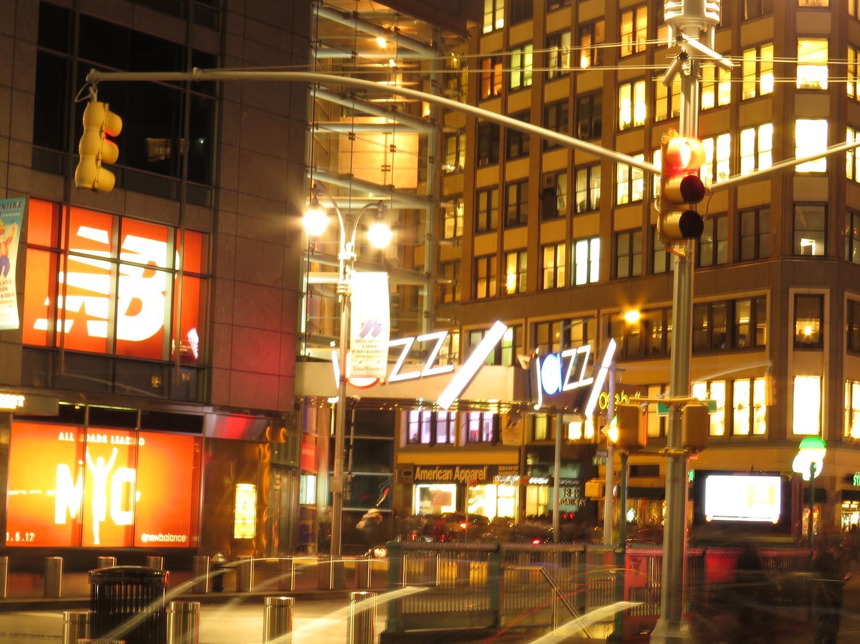 Columbus Circle Night Lights