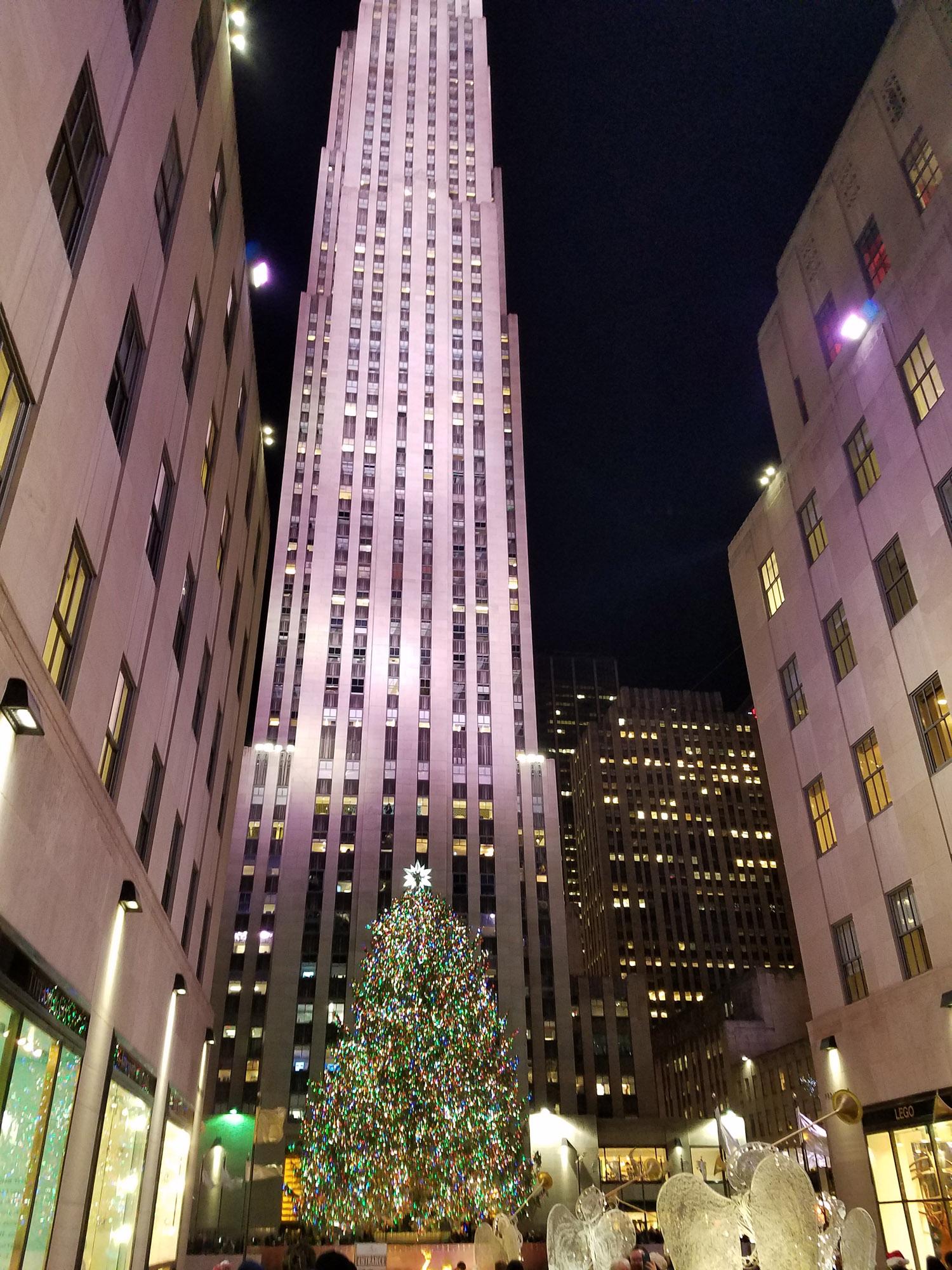 The Tree! at Rockefeller Center, Christmas 2017