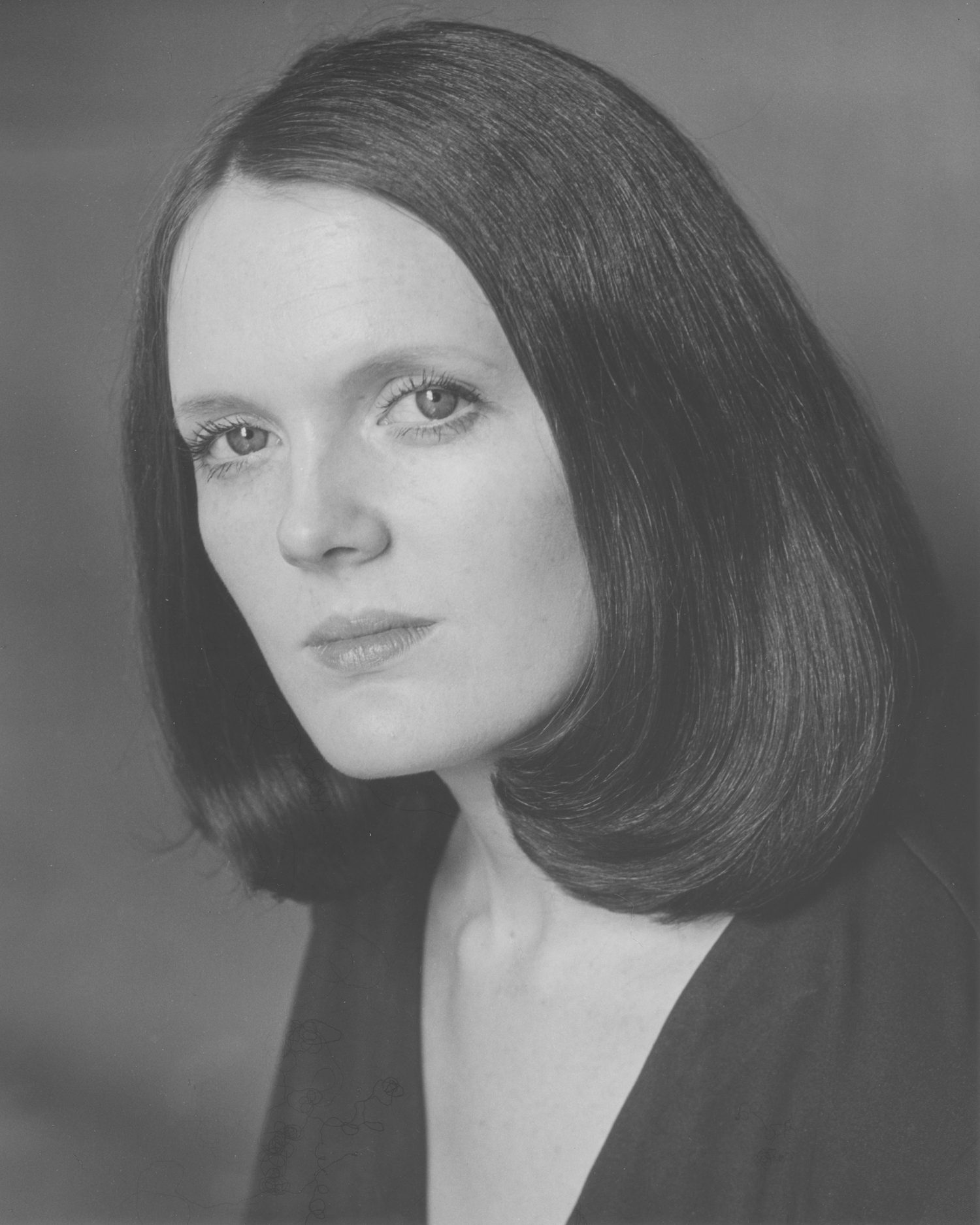Acting head shot, 1973