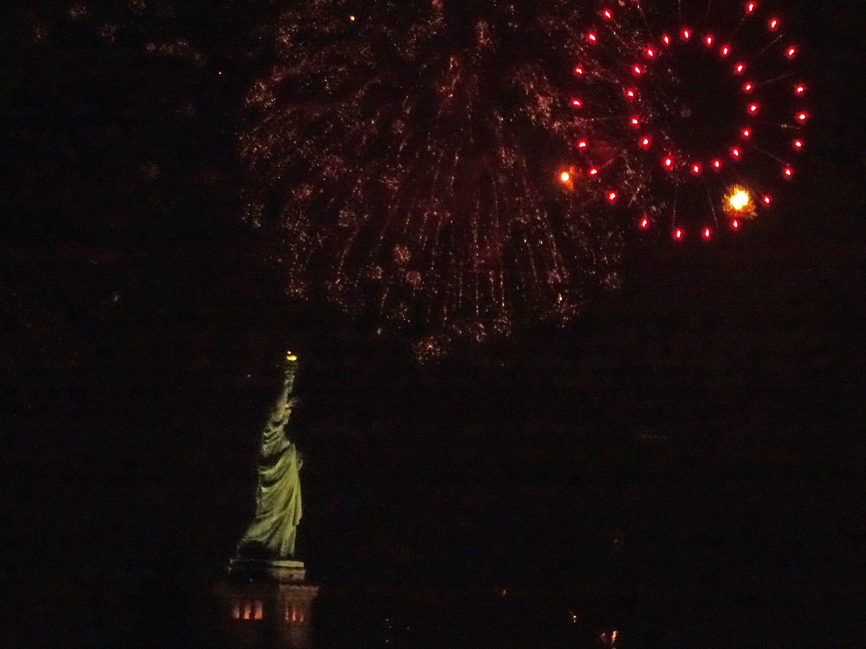 Lady Liberty …