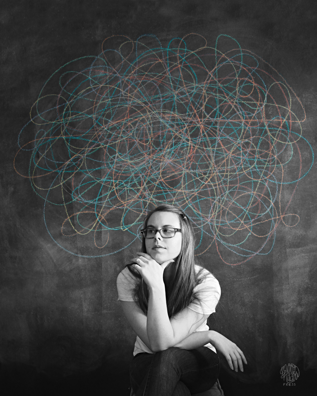 Thought Cloud VII: Self Portrait