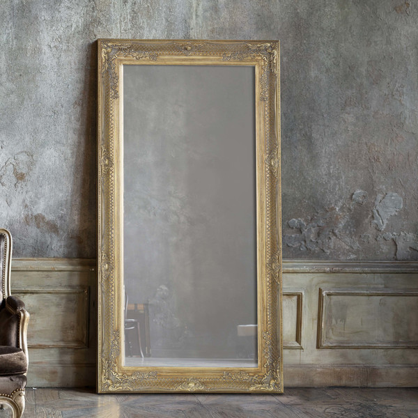 Victorian styled full length mirror