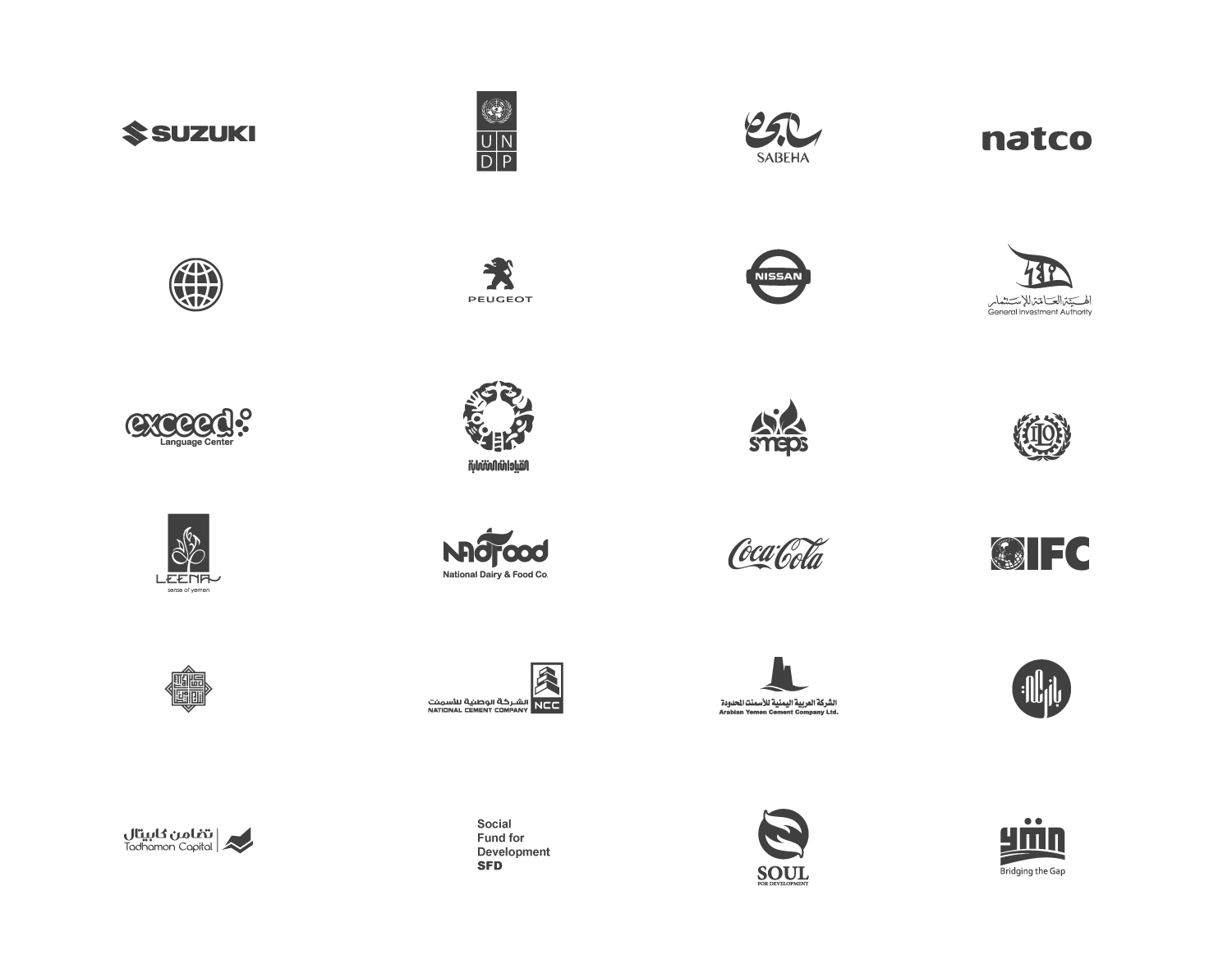 Selected Clients